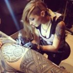 Anna Karagkoyni von beautiful people Tattoo